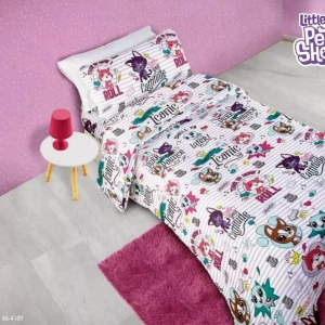 Acolchado MF Littlest Pet Shop Twin 1½ Plz