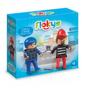 FLOKYS POLICIA + BANDIDO