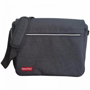 (G-532) BOLSO FISHER PRICE GRIS