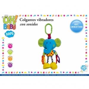 SONAJERO COLGANTE Y VIBRADOR ELEFANTE