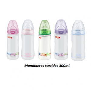 MAMADERA FC PPX300ML. COLORES SURTIDOS