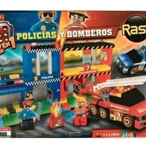 RASTI POLICIA - BOMBEROS 250 PZAS