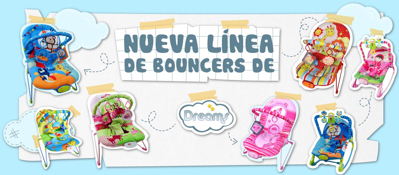 Nueva línea de Bouncers de Dreams