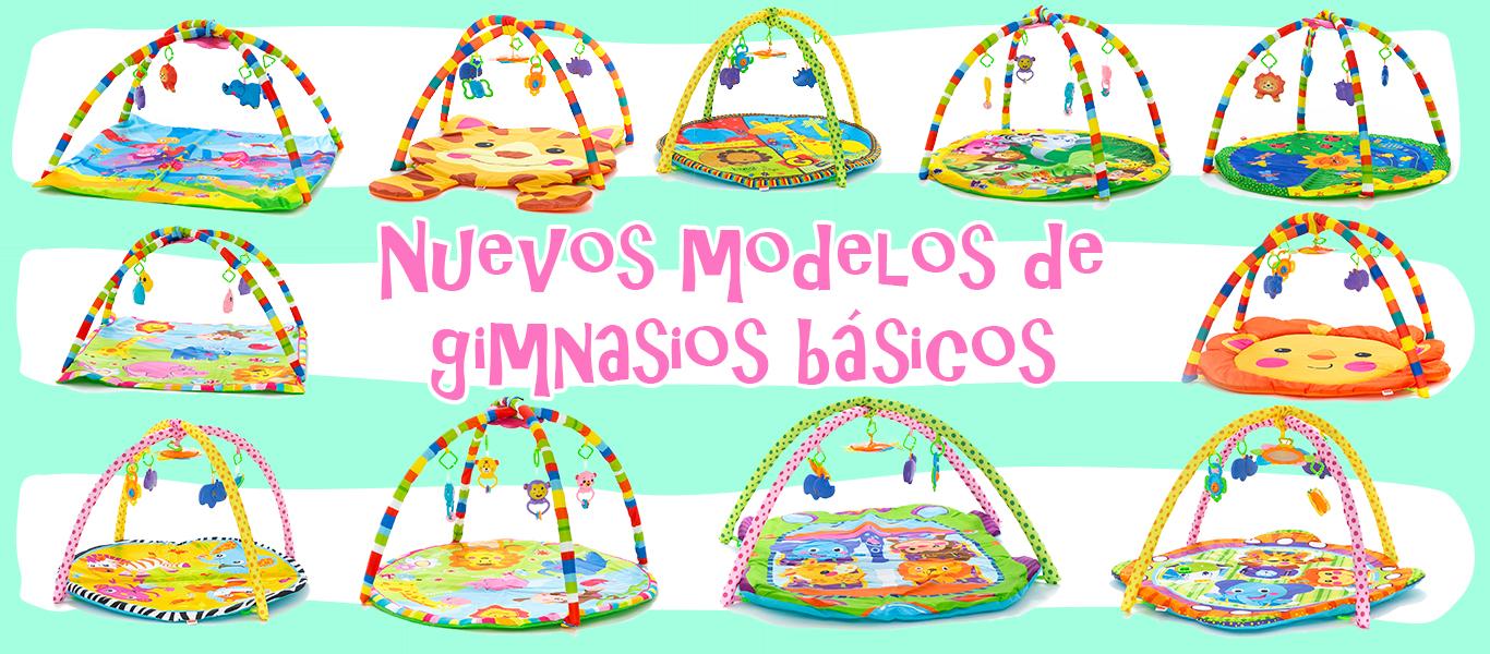 Nuevos modelos de gimnasios básicos