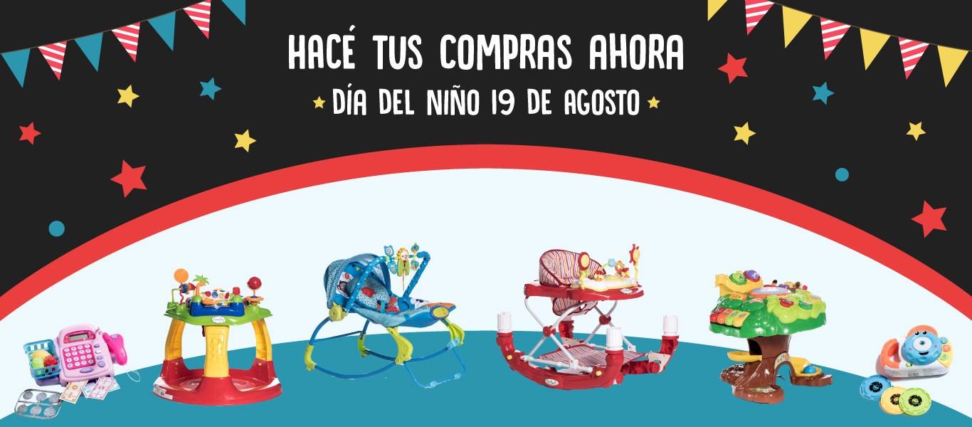 Hacé tus compras ahora - 19 de Agosto: Día del Niño